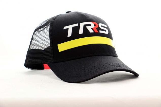Hat PWS TRRS with Curved Peak-Black